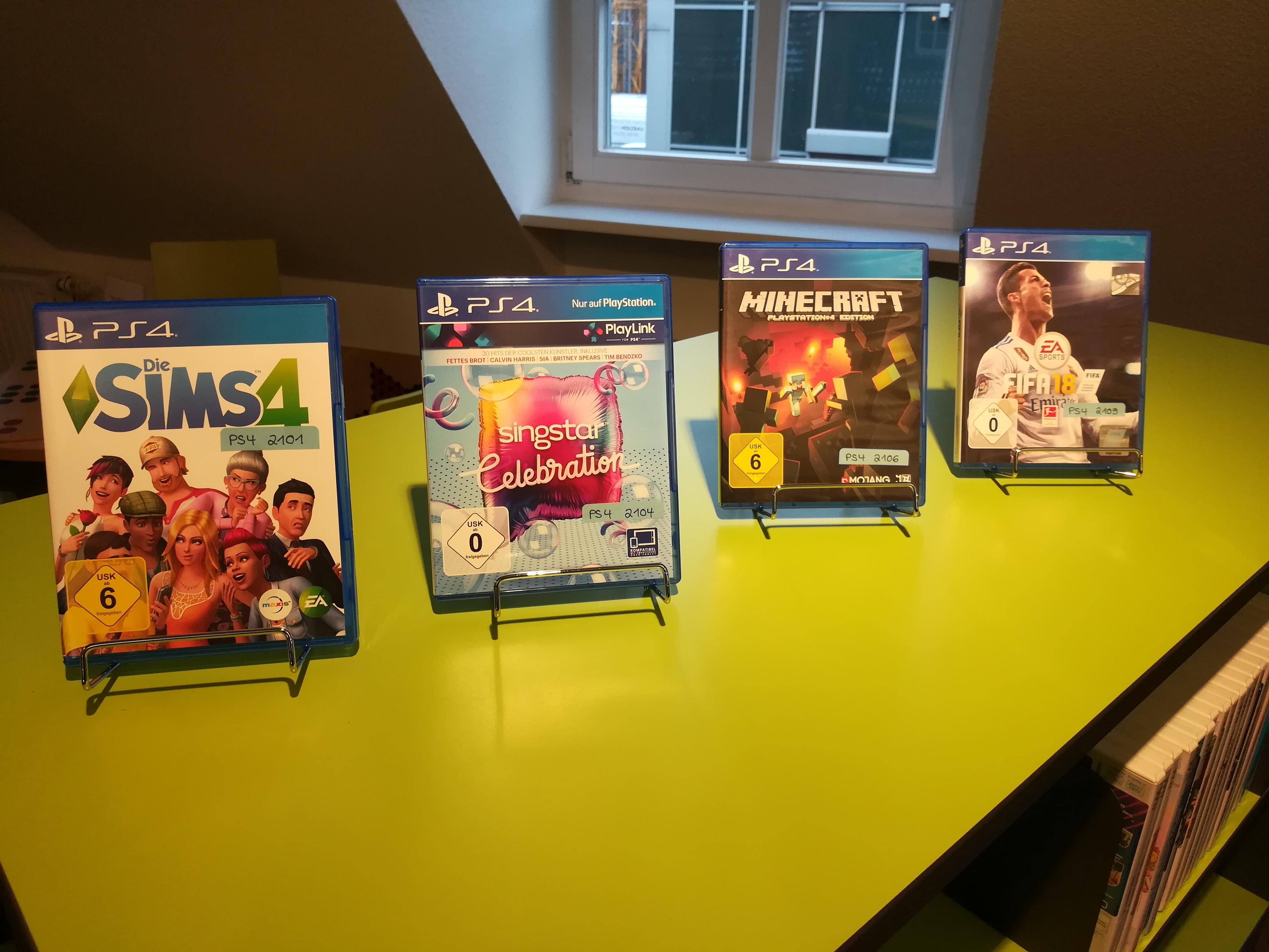 Neu Im Bestand Der Öffentlichen Bücherei St Gudula PSSpiele - Minecraft spiele ps4